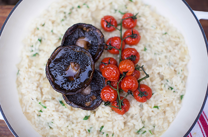 how to fix gluggy risotto